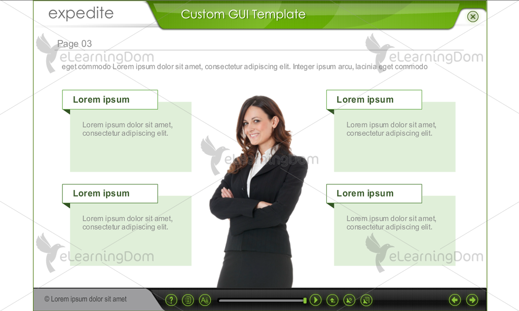 Green and Gray GUI Theme