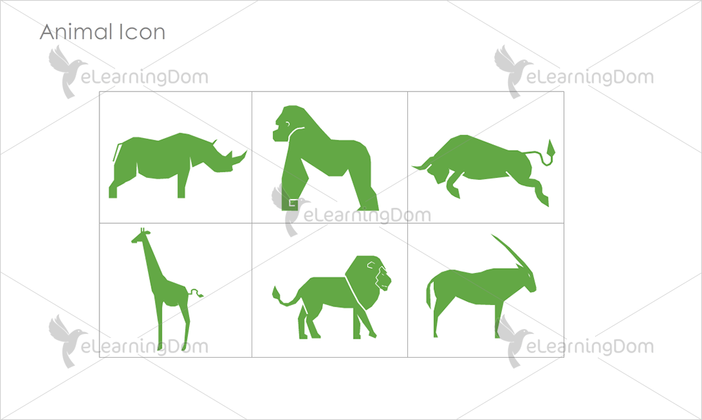 Animal Icons - Set 2