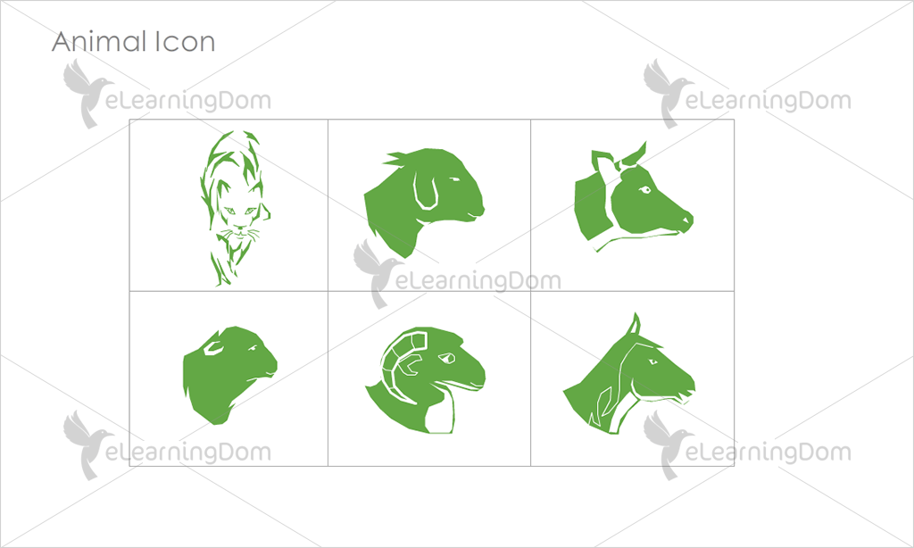 Animal Icons - Set 5