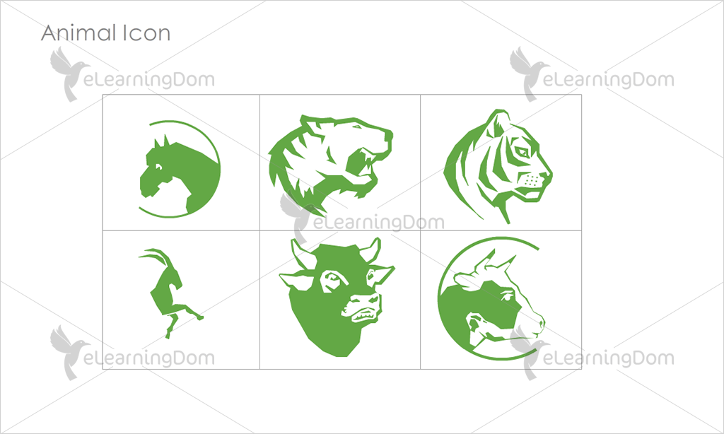 Animal Icons - Set 6