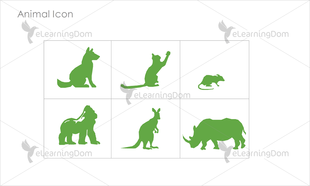 Animal Icons - Set 7