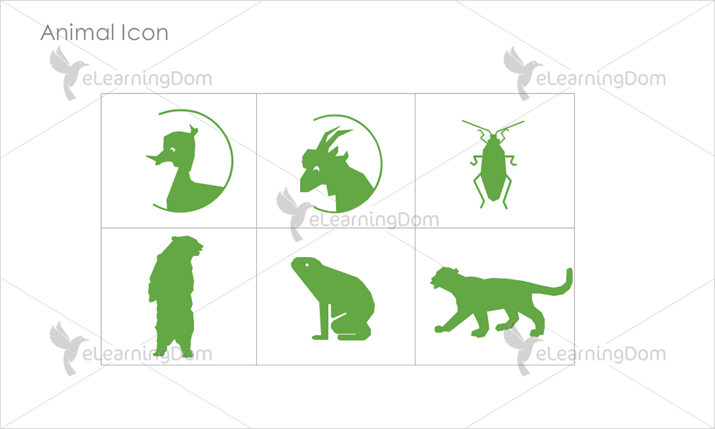 Animal Icons - Set 10