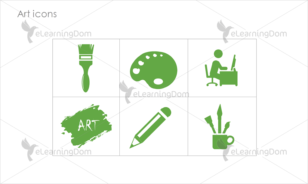 Art Icons - Set 4