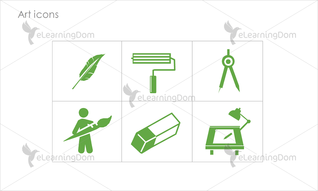Art Icons - Set 5