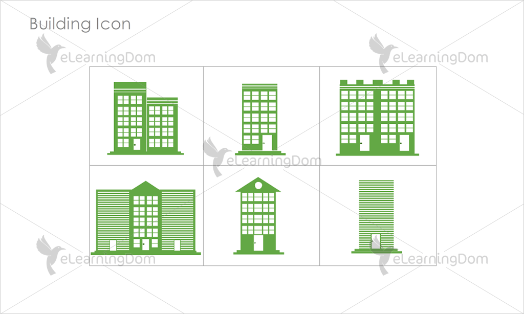 Building Icons - Set 2