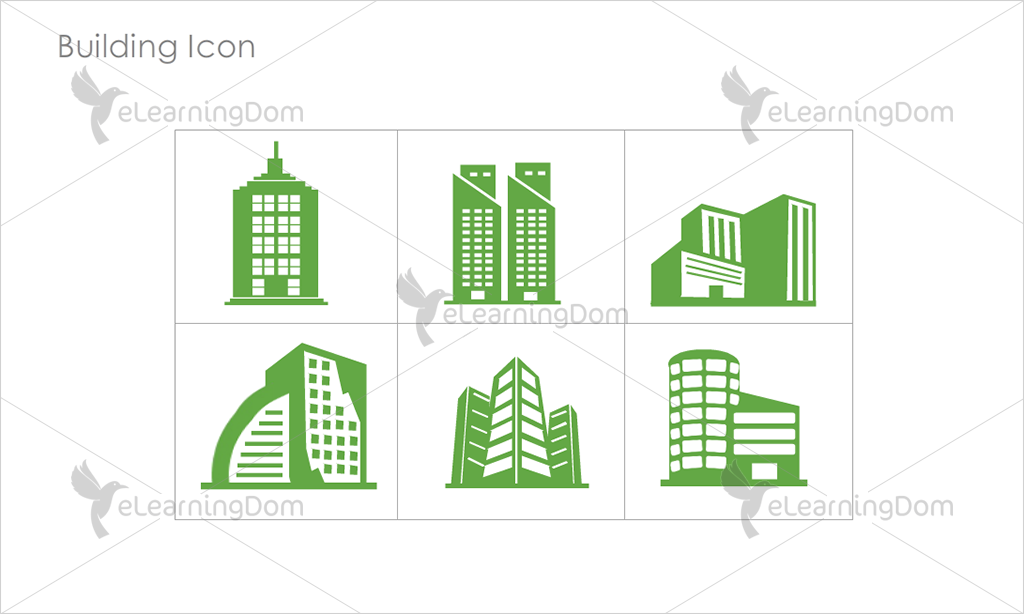 Building Icons - Set 3