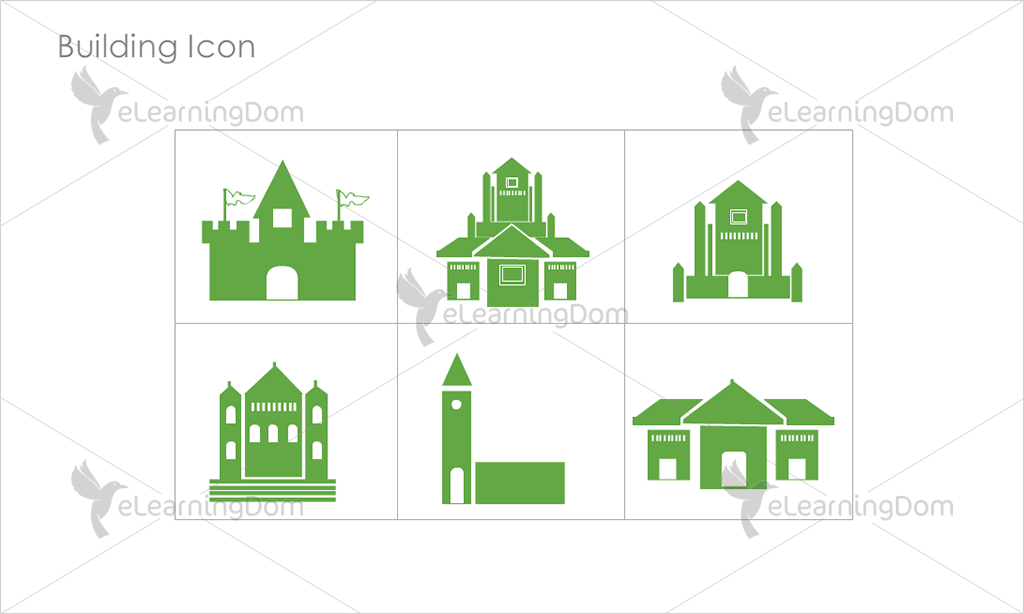 Building Icons - Set 9