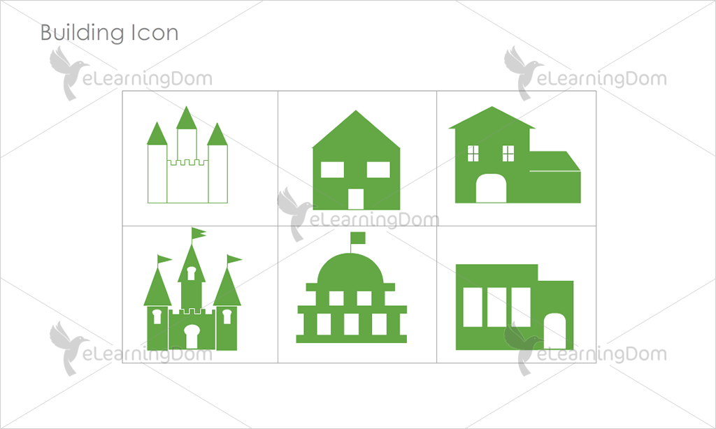 Building Icons - Set 10