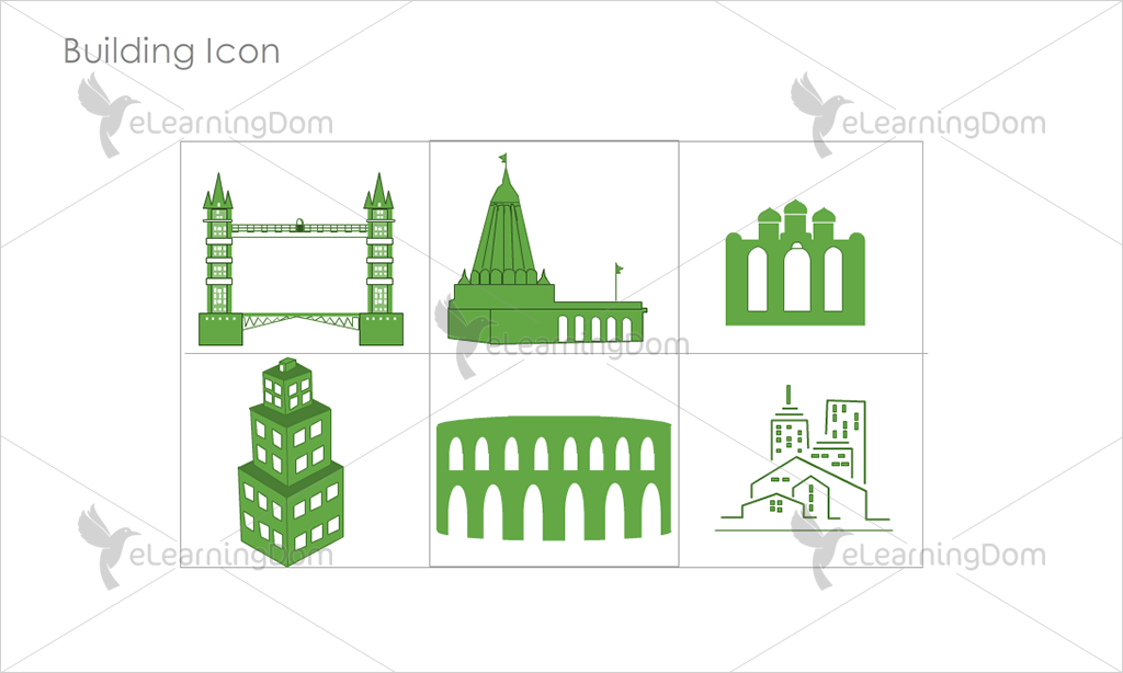 Building Icons - Set 13