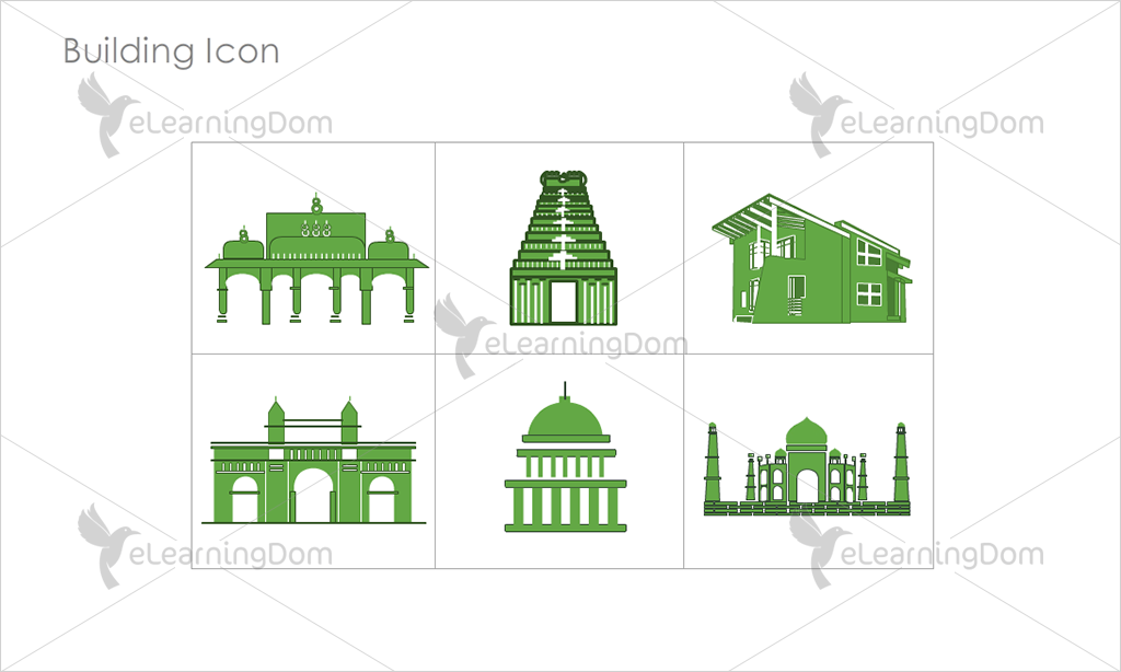 Building Icons - Set 14