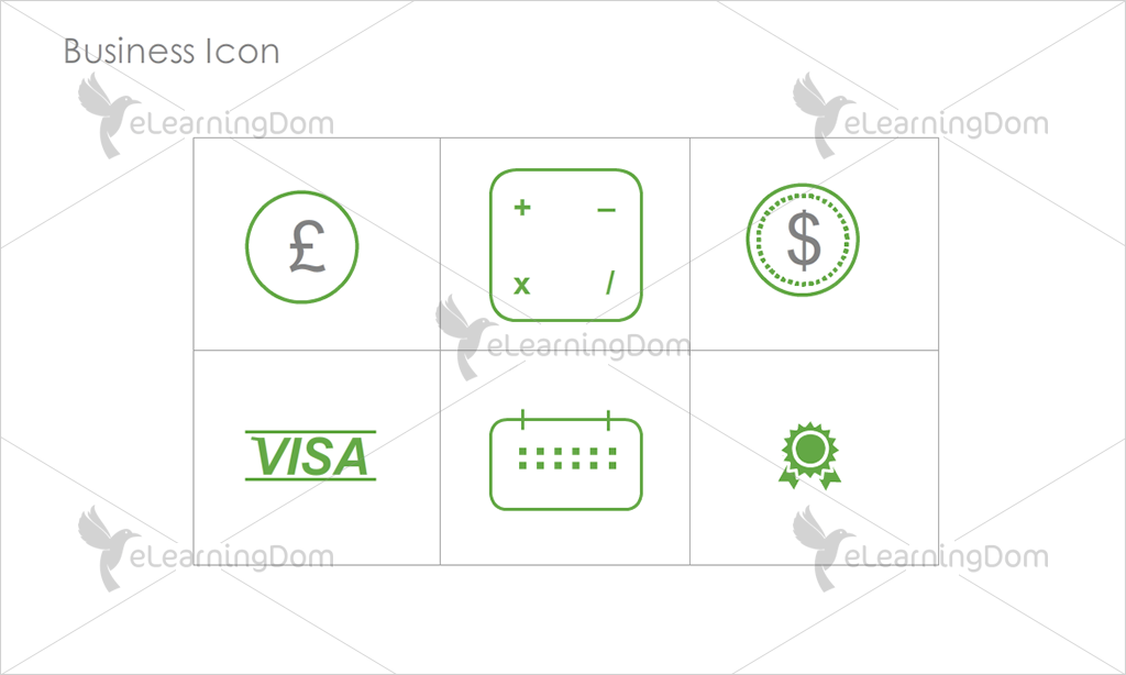 Business Icons - Set 5