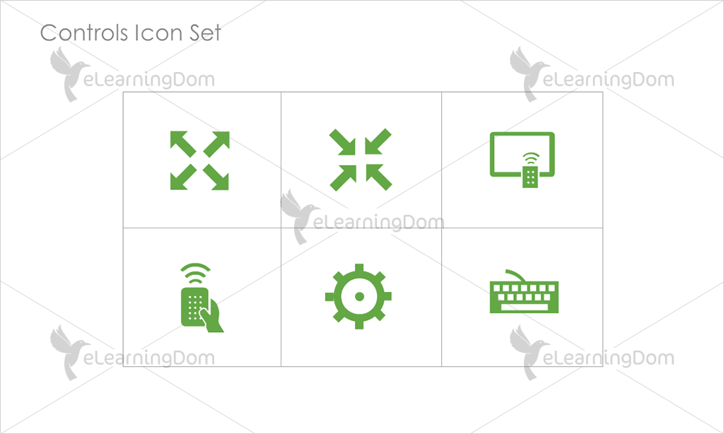 Controls Icons - Set 2