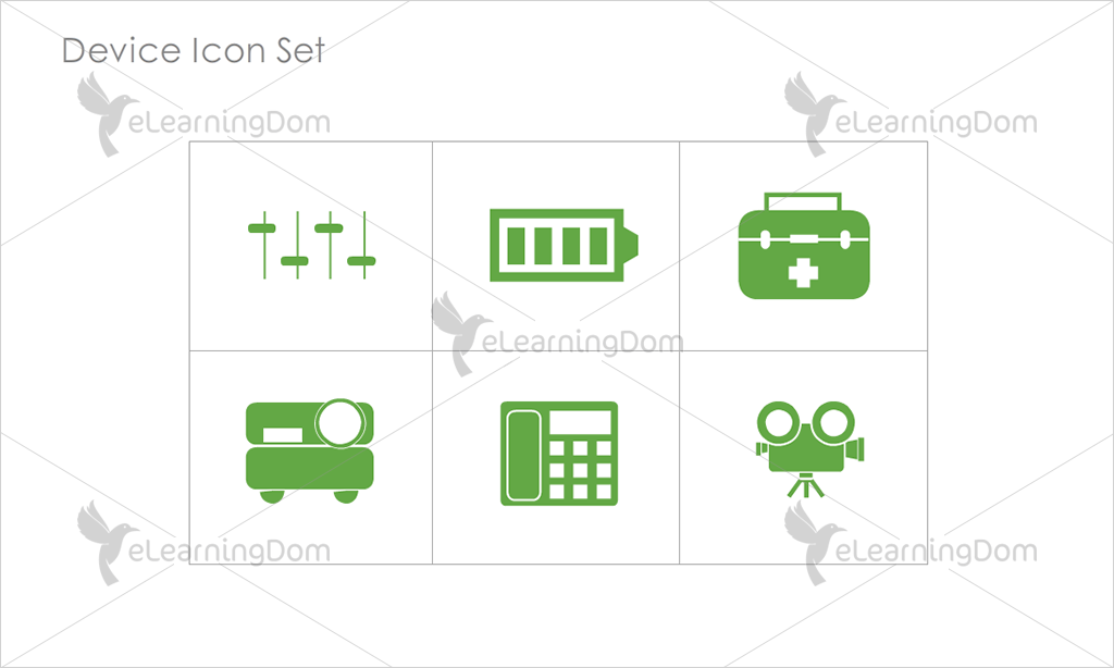 Device Icons - Set 10
