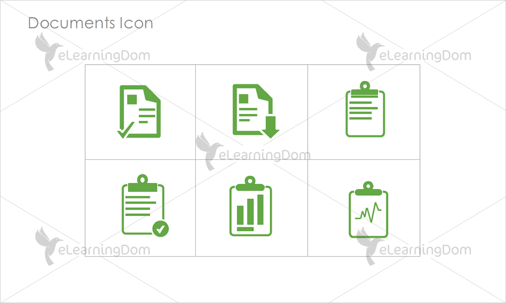 Documents Icons - Set 2