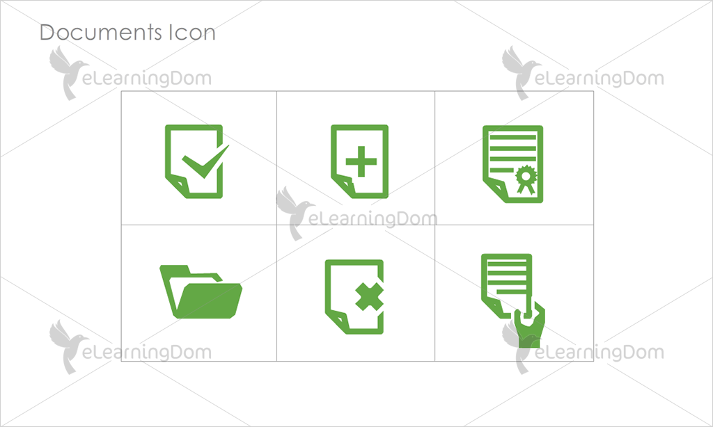 Documents Icons - Set 3