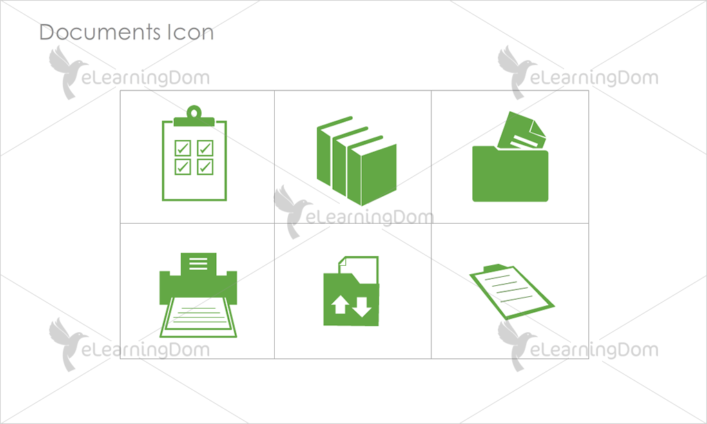 Documents Icons - Set 4