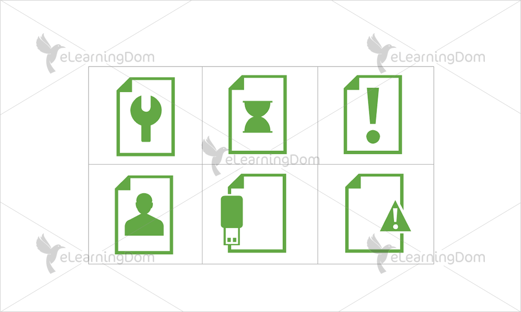 Documents Icons - Set 5