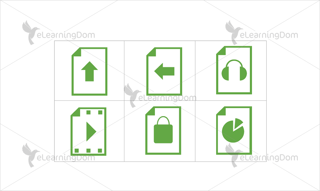 Documents Icons - Set 6