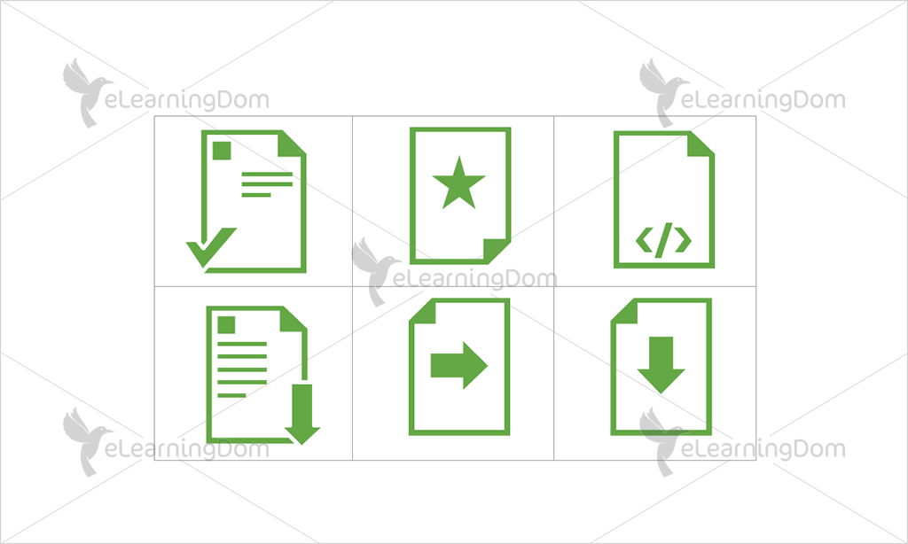Documents Icons - Set 7