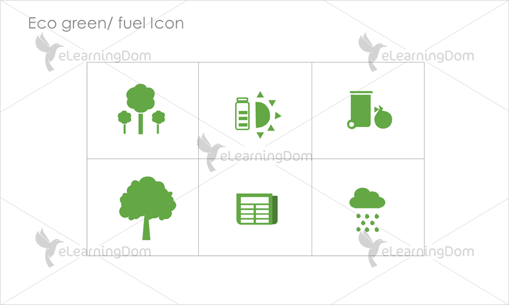 Eco Green/Fuel Icons - Set 2