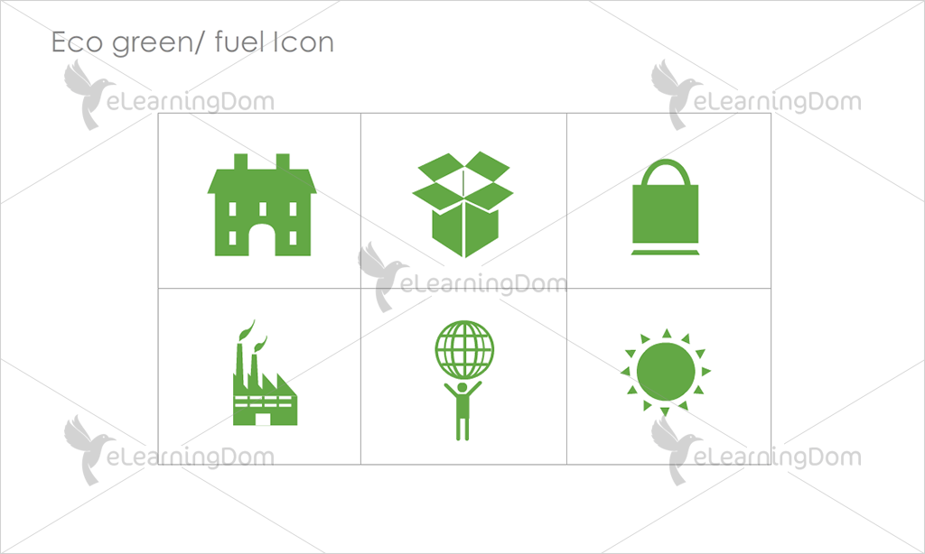 Eco Green/Fuel Icons - Set 3