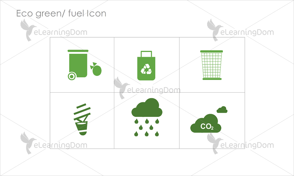 Eco Green/Fuel Icons - Set 4