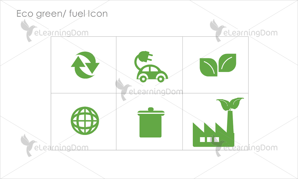 Eco Green/Fuel Icons - Set 7