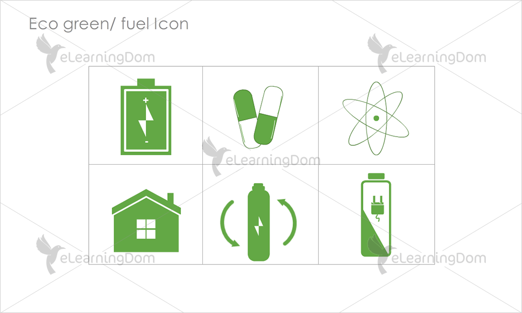 Eco Green/Fuel Icons - Set 8