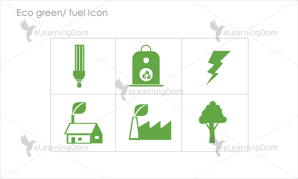 Eco Green/Fuel Icons - Set 9
