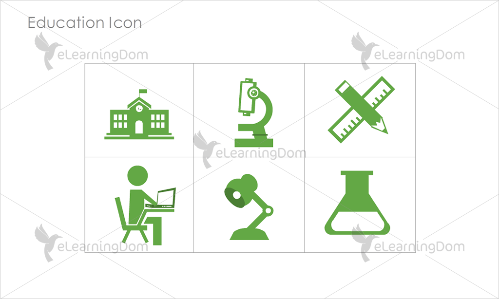 Education Icons - Set 5