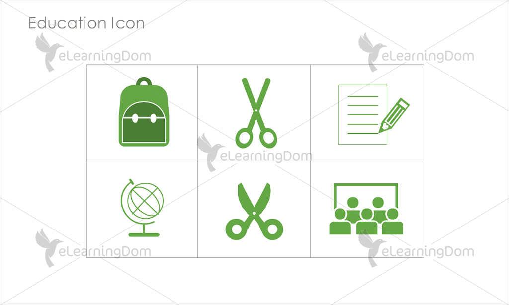 Education Icons - Set 6