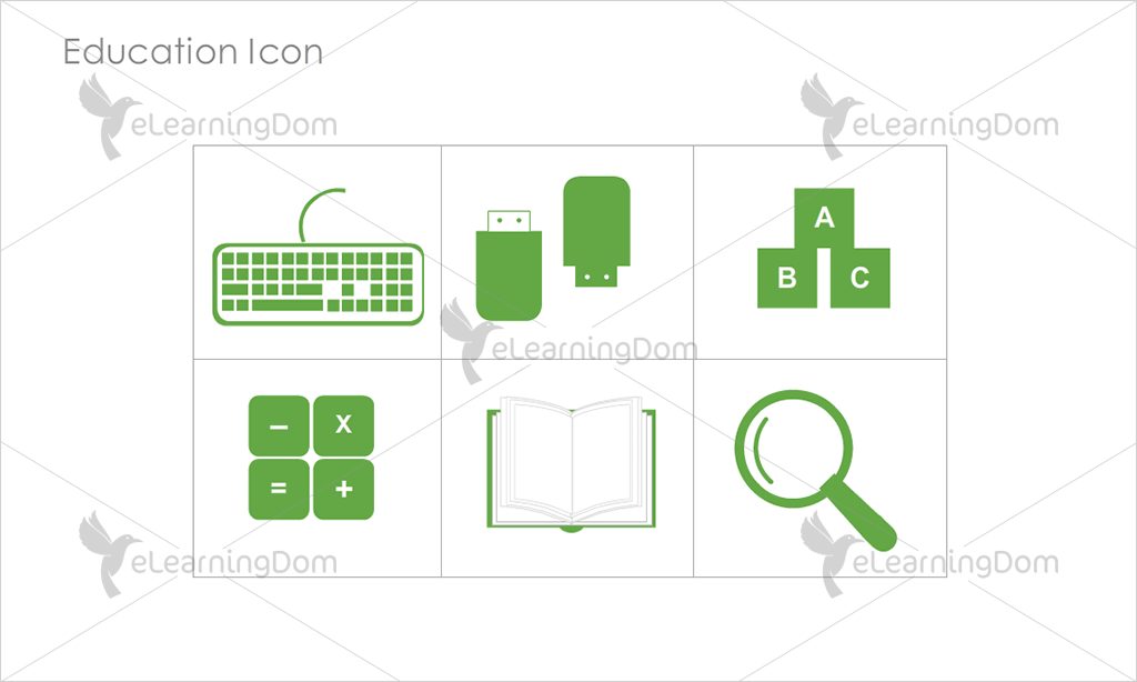 Education Icons - Set 7