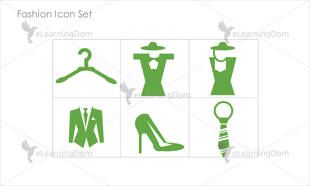 Fashion Icons - Set 1