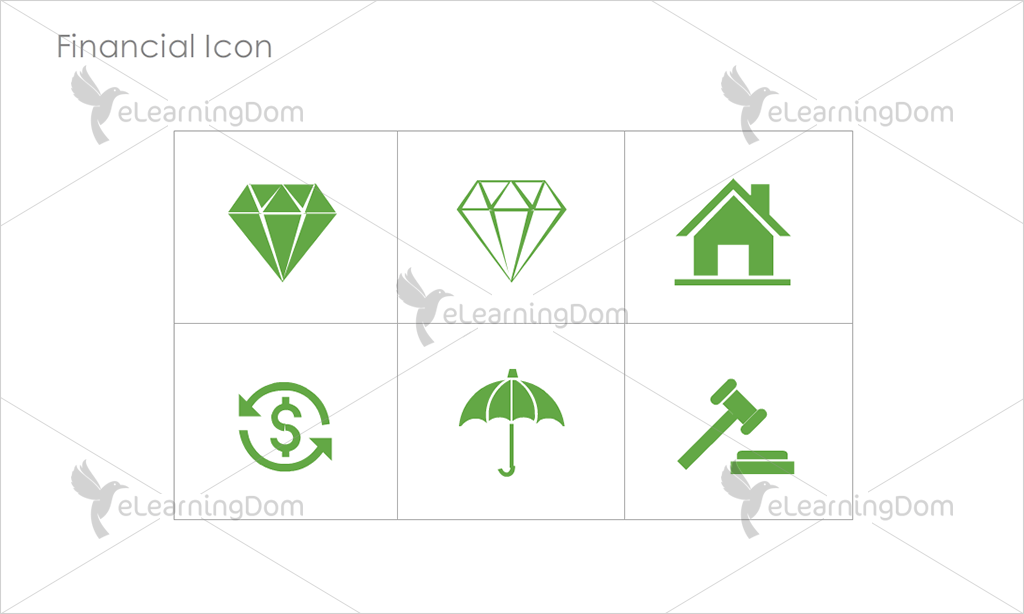 Financial Icons - Set 2