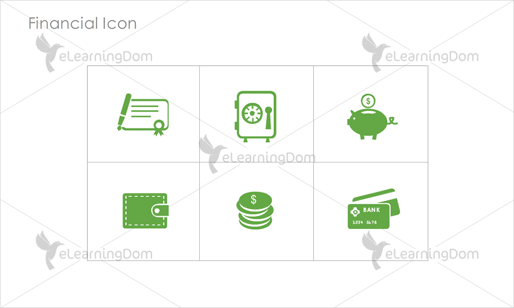 Financial Icons - Set 3
