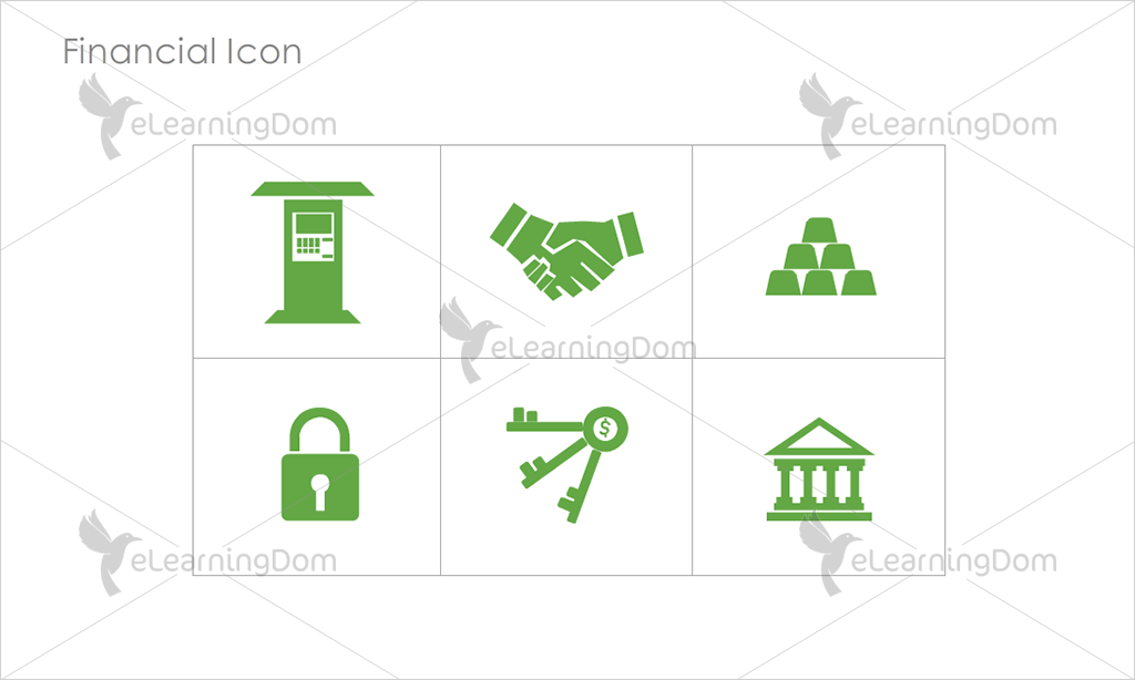 Financial Icons - Set 4