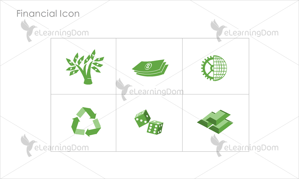 Financial Icons - Set 6