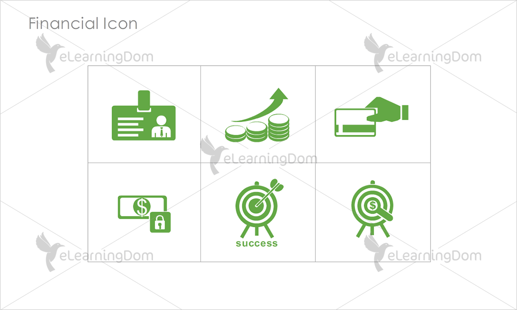 Financial Icons - Set 7