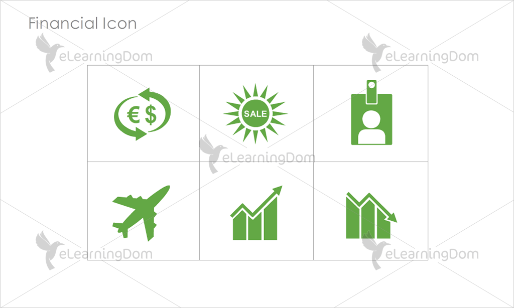 Financial Icons - Set 8