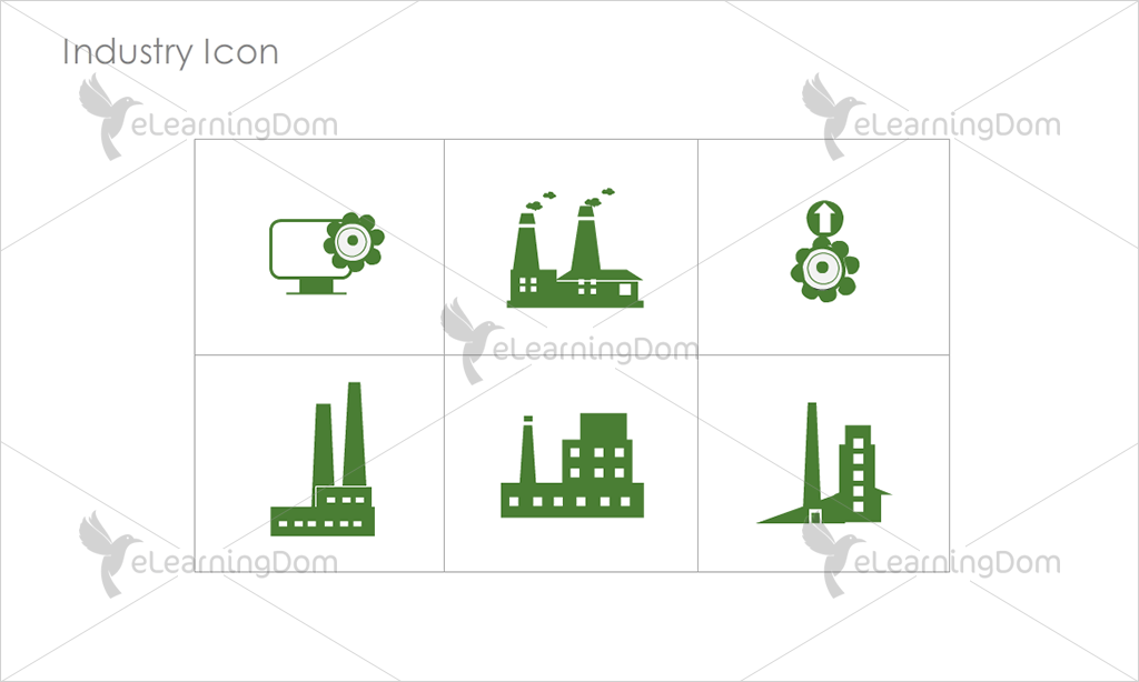 Industry Icons - Set 2
