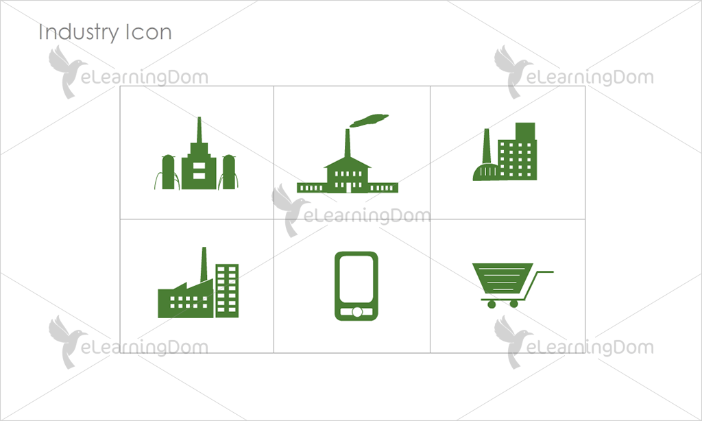 Industry Icons - Set 3