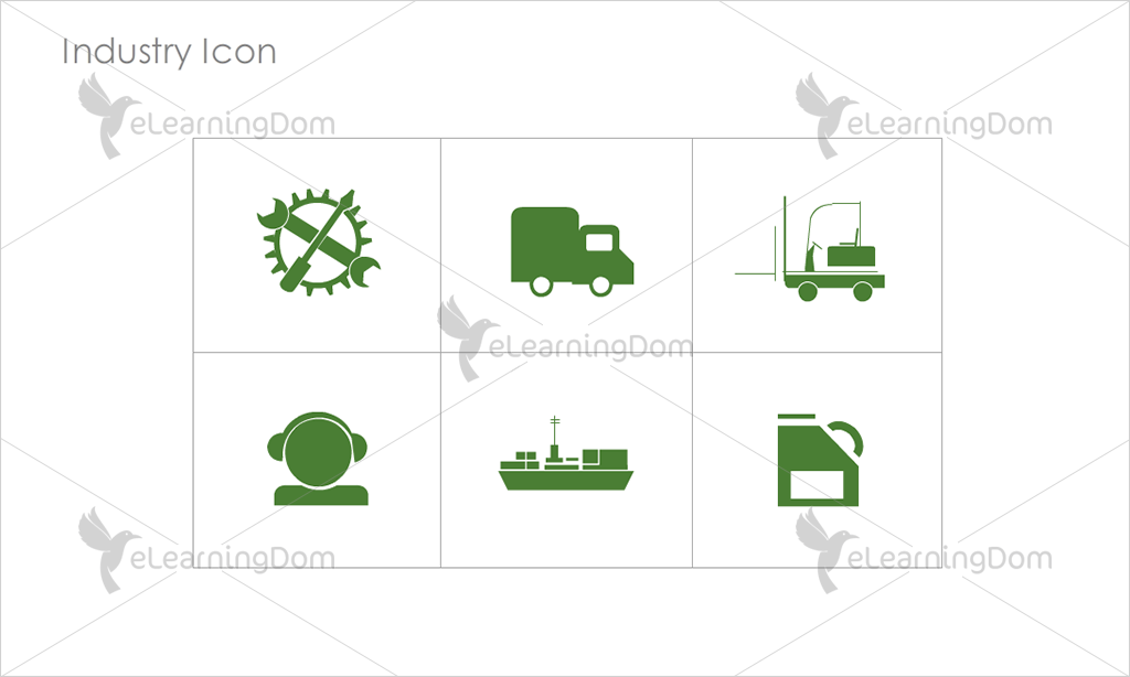 Industry Icons - Set 4