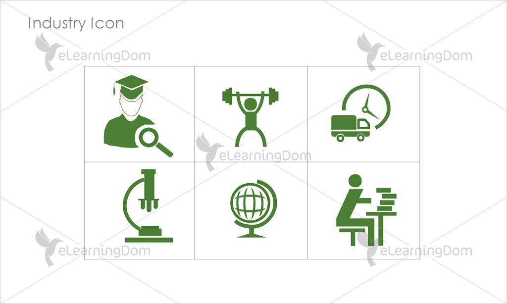 Industry Icons - Set 8