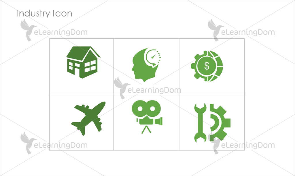 Industry Icons - Set 9