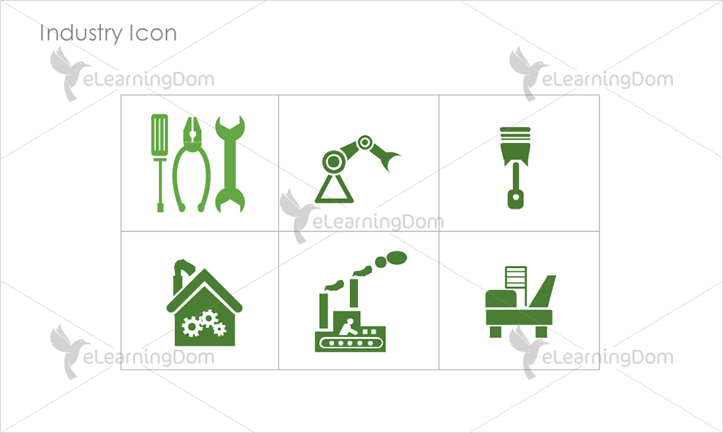 Industry Icons - Set 10