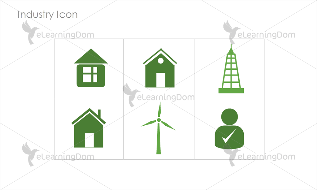 Industry Icons - Set 11