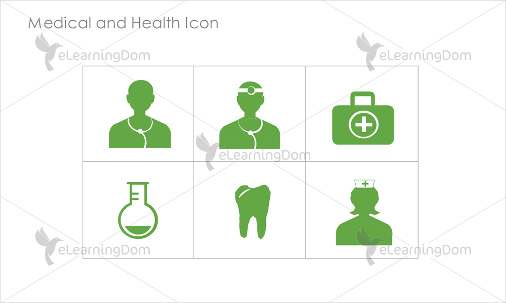 Medical and Health Icons - Set 2