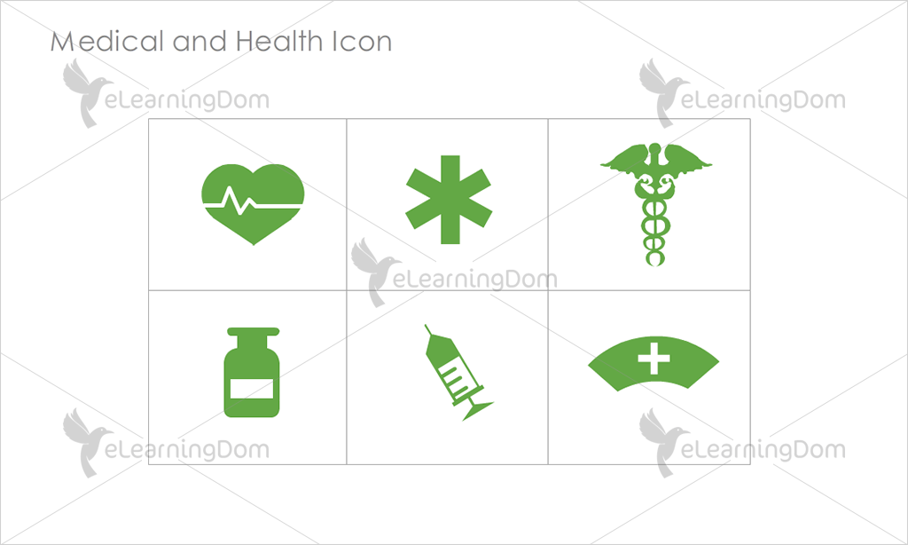 Medical and Health Icons - Set 3