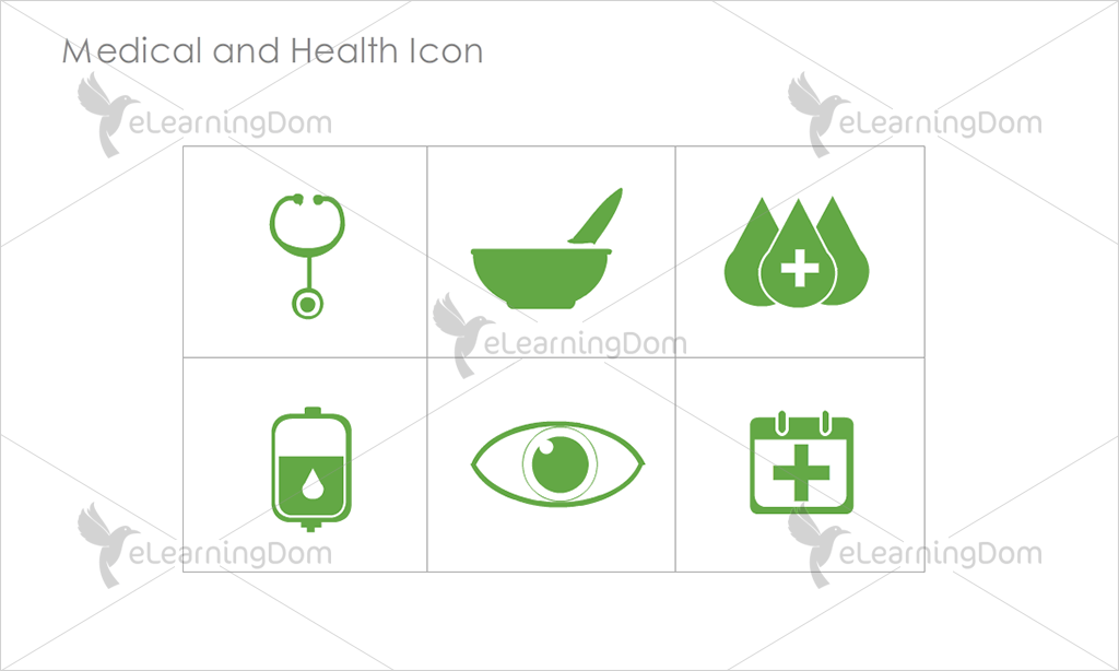 Medical and Health Icons - Set 5