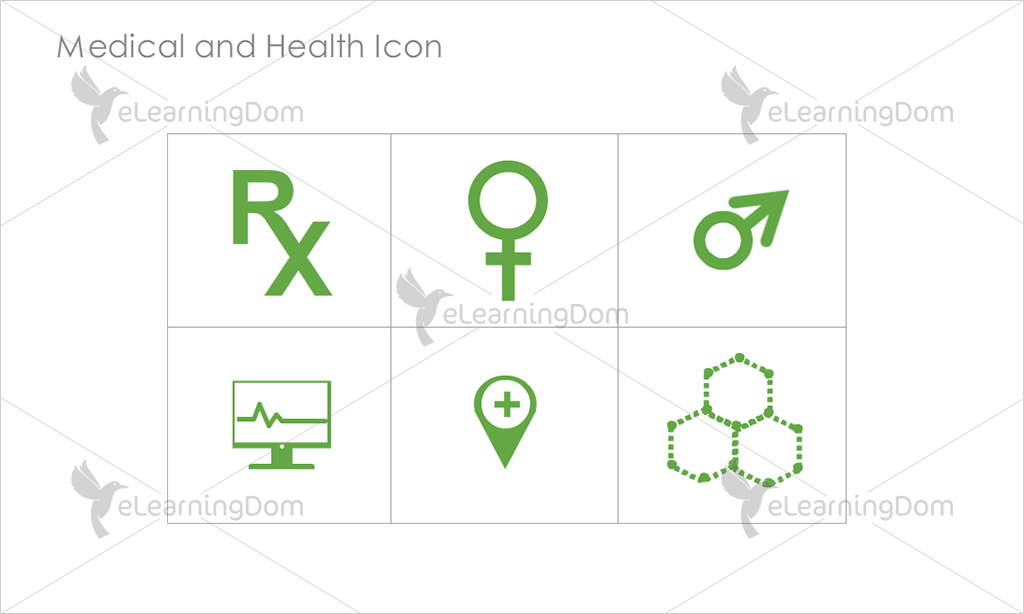 Medical and Health Icons - Set 6